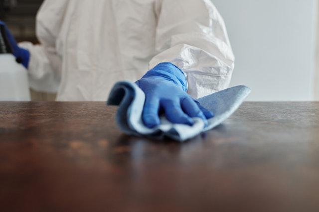 Reinigung und Desinfektion